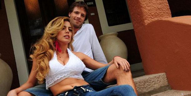 Virginia Gallardo se reconcilió con su ex
