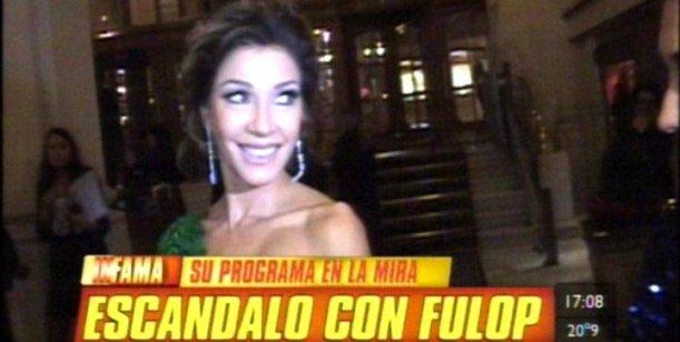 Catherine Fulop dispara contra Telefe: Tiro la toalla