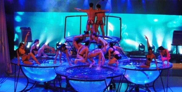 Showmatch prepara todo para el desembarco del Aquadance