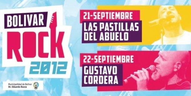 Gustavo Cordera estará presente el Bolívar Rock  2012