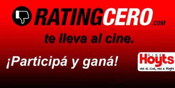 Todos a votar: Vuelve el Juego del Rating para ganar entradas para el cine