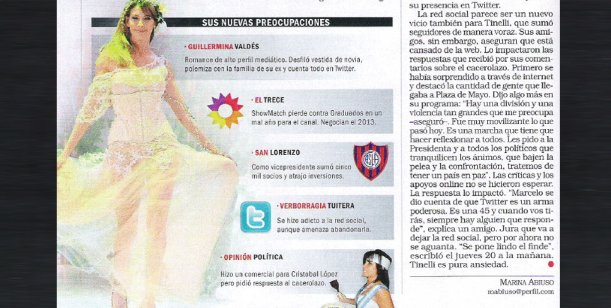 Los motivos de la crisis Tinelli  - el Trece según Revista Noticias