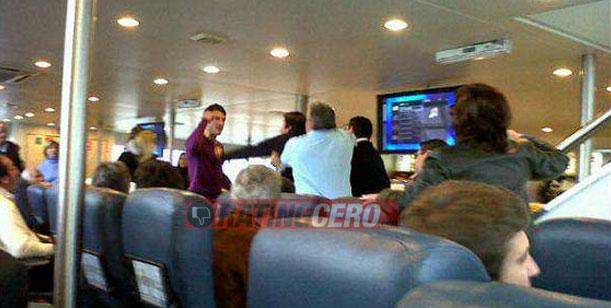 Exclusivo - Claudia Fernández habla del episodio de los golpes en el barco