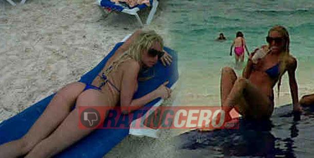 Exclusivo: El álbum íntimo de La Griega Vicky Xipolitakis en las playas de Cancún
