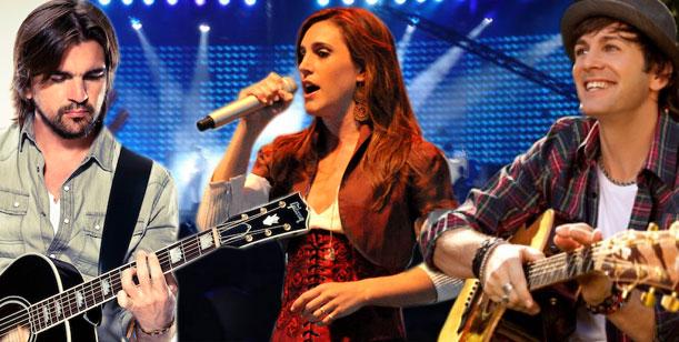 Juanes, Soledad y Axel juntos en La voz y en el Luna Park