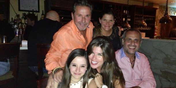 Jorge Rial con Mariana y Ricardo Montaner, lejos de las polémicas por su divorcio