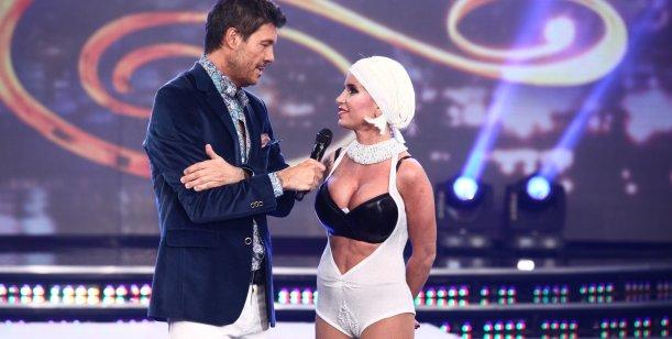 Marcelo Tinelli y Flor Peña devolvieron gentilezas; la actriz elogió a la Presidenta
