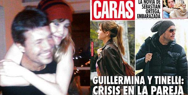 Caras habla en su tapa de Crisis entre Guillermina Valdes y Marcelo Tinelli