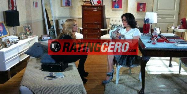 Exclusivo: Vicky de Graduados atendió a Viviana Canosa en su consultorio