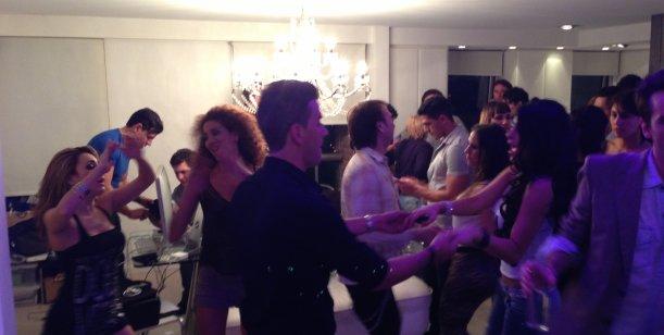 Exclusivo: La fiesta loca de Fort tras el final de su programa, ésta madrugada
