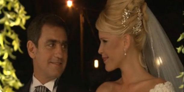 El casamiento de Nazarena Vélez y Fabián Rodríguez: el video