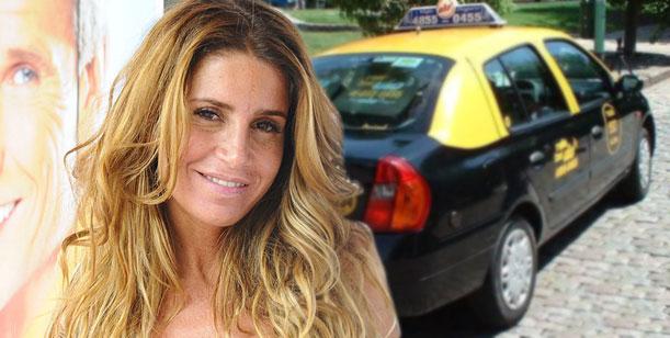 Habla el taxista de Florencia Peña: Fui yo el que no le quiso cobrar el viaje