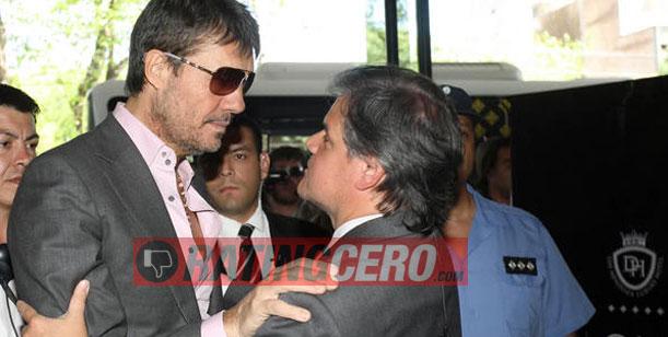 Tinelli, en Mendoza para alentar a la Selección