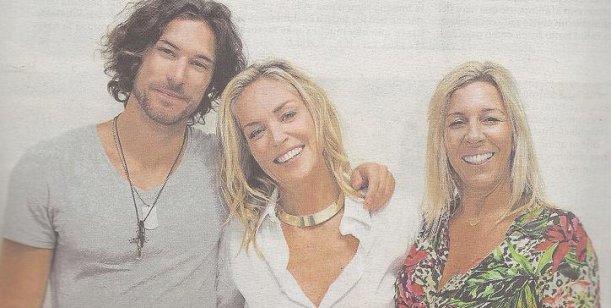 Sharon Stone y su novio argentino de Camboriú a Río de Janeiro, apasionados