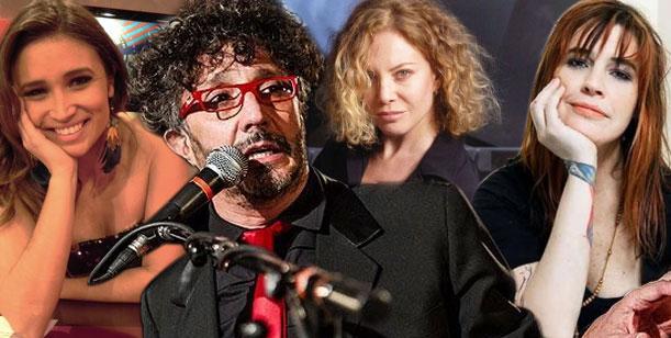 A Fito Páez se le juntó el ganado: tres de sus mujeres reunidas en el Planetario
