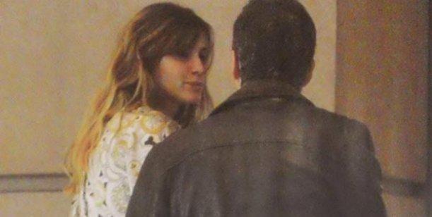 Las fotos de Tinelli y Guillermina Valdes cuando almorzaron juntos el domingo