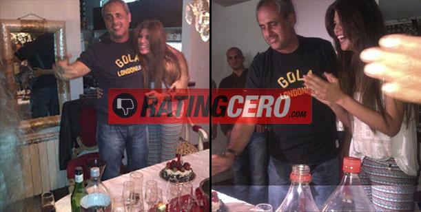 Jorge Rial y la fiesta de cumpleaños sorpresa que le preparó Loly, anoche