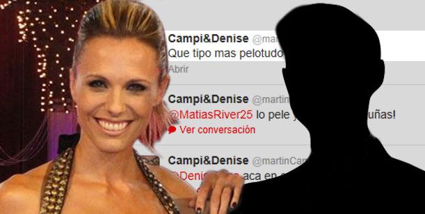 ¿A quién está dirigido este tweet de Denise Dumas?: Qué tipo más pelotudo