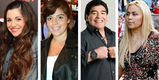 Maradona festejará su cumpleaños de viaje, lejos de sus hijas y de Verónica Ojeda