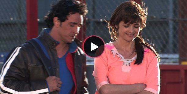 El back de la participación de Araceli González en Dulce amor