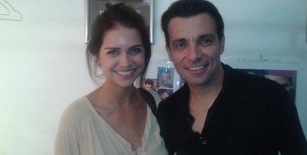 Zaira Nara y Martín Bossi ¿juntos al teatro?