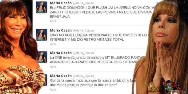 Moria opinó del fútbol playa de Showmatch en Twitter