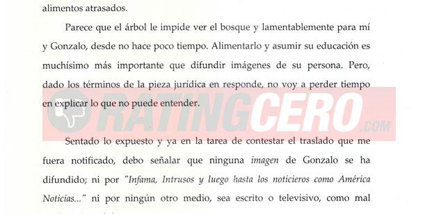 Nuevo round judicial entre Nazarena Vélez y Agostini: Multas, dinero y reproches