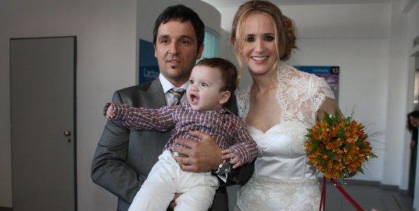 Prandi anticipa su boda: Mi hijo me espera en el altar en brazos de su papá