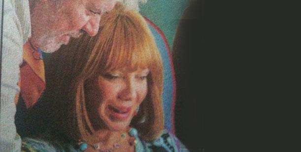 El look almodovariano de Cecilia Roth para su última película