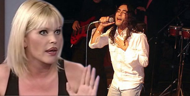 Escándalo: Agostini hizo cantar con él en un escenario a su hijo