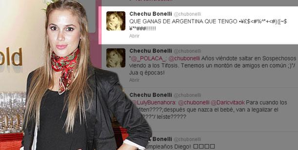 La depresión de Chechu Bonelli