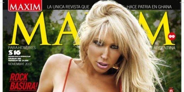 La griega más hot que nunca, es la tapa de la revista Maxim