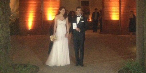 El album de fotos del casamiento de José María Listorti y Mónica González