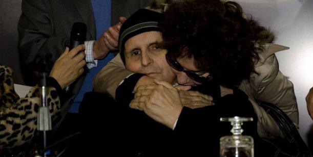 El llanto desesperado de Graciela Borges por la muerte de Leonardo Favio