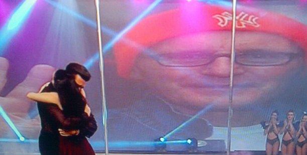 Los dos Falcioni en un juego perfecto de espejos; Freddy y el DT en Showmatch