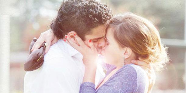 El primer beso entre Luciano Castro y Celeste Cid en Sos mi hombre