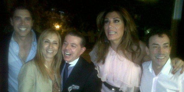 Florencia de la V en su presentación recibió la visita del juez Norberto Oyarbide
