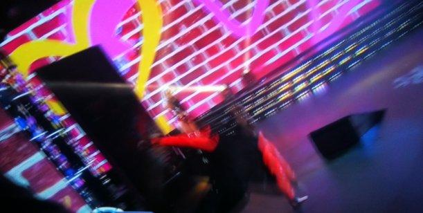 El increíble porrazo de Alexander Caniggia en la gala de Showmatch