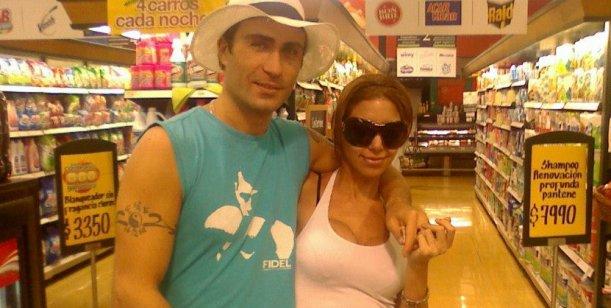Rodrigo Santos, novio de Julieta Gómez: Ella quería triunfar y no lo logró