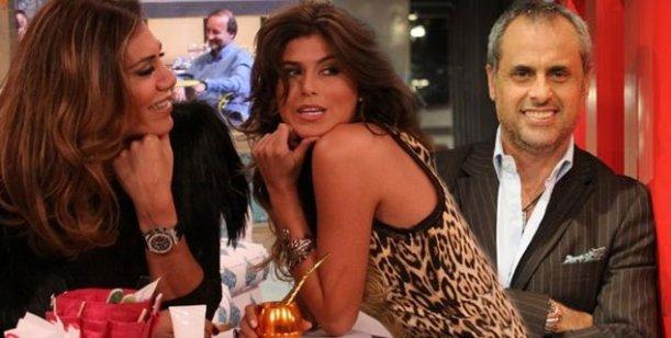 Jorge Rial y Mariana graban hoy con Flor de la V, su participación para La Pelu