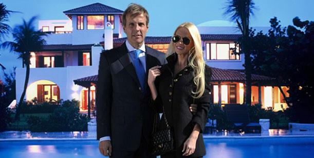 Redrado alquiló una casa de country para vivir con Luciana Salazar y ¿casarse?