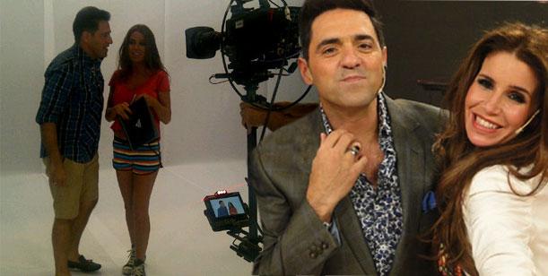 Mariano Iúdica y Flor Peña comenzaron a grabar para Dale a la tarde