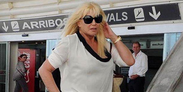 Susana Giménez viaja a Córdoba como invitada, a un evento de la firma Gama