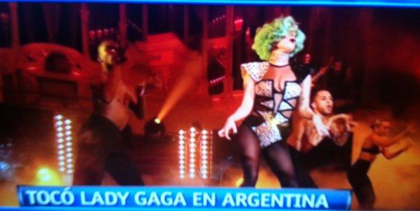 Lady Gaga reunió a todos: desde Chiche Gelblung a Graciela Alfano, no faltó nadie