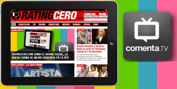 RatingCero.com suma el Rating Social, la nueva forma de medir audiencia en la red