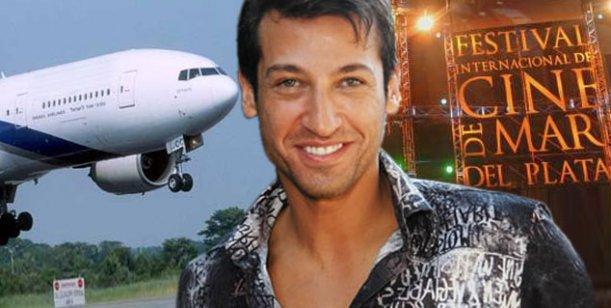 Pablito Ruiz habló de su presencia en el avión oficial del Festival de Cine MDP