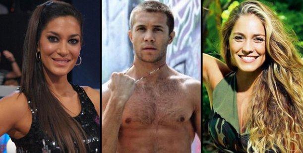 Silvina, Tacho y Rochi: el triángulo más hot de la farándula