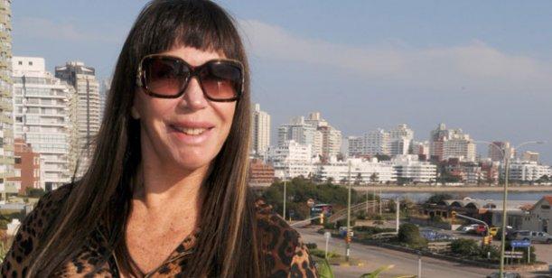 Moria Casán llegó a Mar del Plata para sumarse a Escandalosas