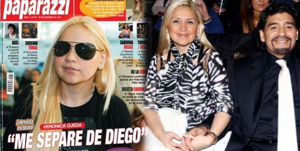Verónica Ojeda: Me separé de Diego, pero lo sigo amando