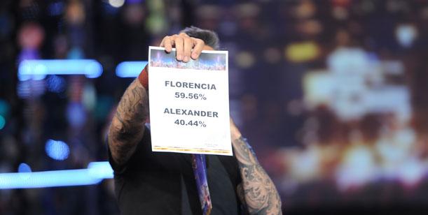 Flor Peña sacó a Alexander Caniggia de Bailando por un Sueño